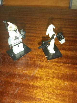 Lego star wars Lego bombardero y droide jetpack