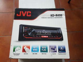 radio cd coche marca Jvc