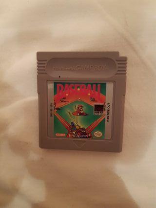 Juego gameboy baseball