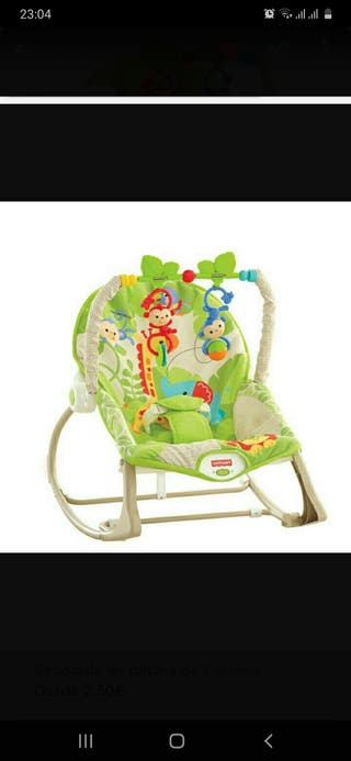 Hamaca Fisher Price. 2 iguales disponibles