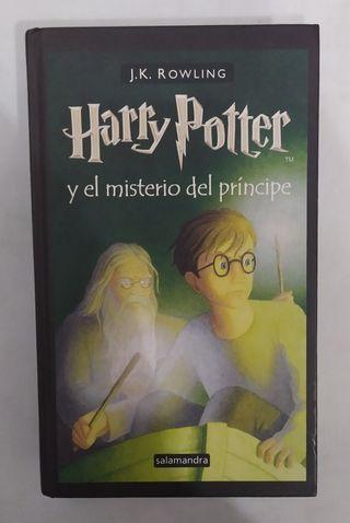 Libro Harry Potter y el misterio del príncipe.