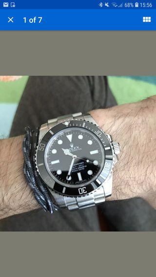 rolex submariner date watch