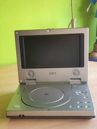 Reproductor dvd portatil