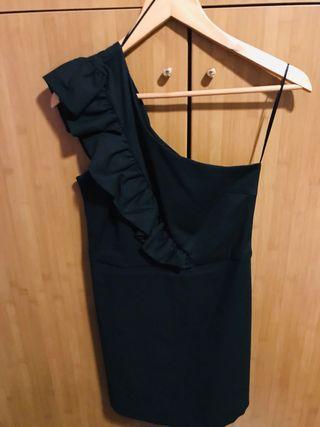 Mono corto falda pantalón de Zara