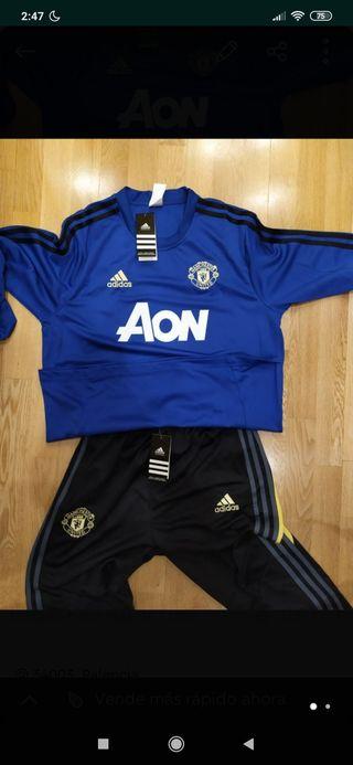 chándal fútbol Manchester United talla L nuevo
