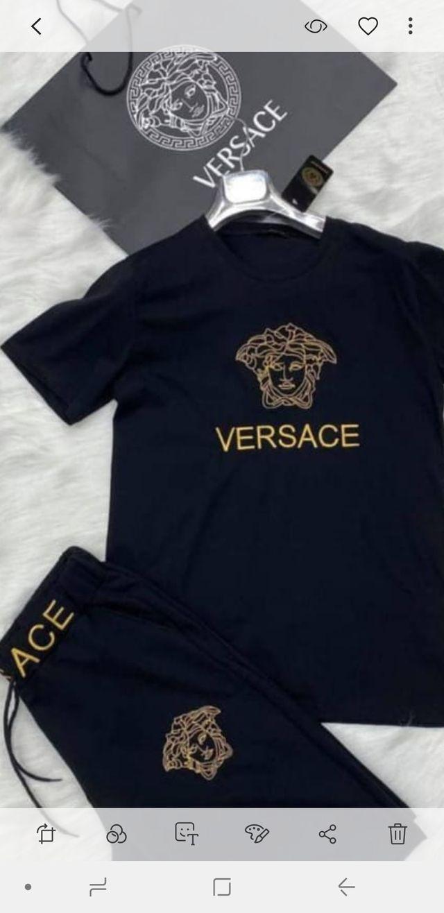 Conjunto Nuevo Versace Bordado