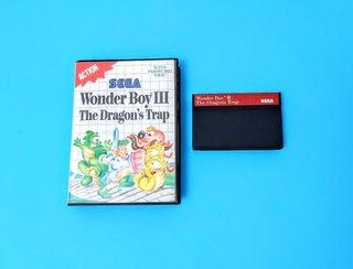 Wonder Boy 3: The Dragon's Trap (sin manual)