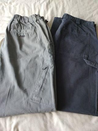 2 pantalones de hombre