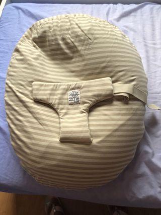 Almohada embarazo y cojín bebé.