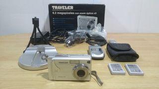 Cámara de fotos digital Traveler 6,2 MP