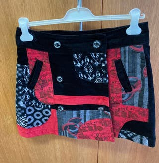 Falda Desigual T 38