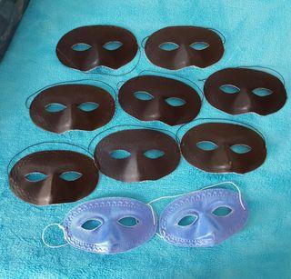10 Máscaras tela NUEVAS