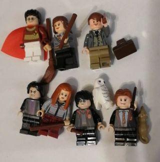 7 figuras Harry Potter. Nuevas
