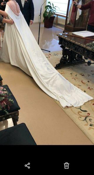 capa de novia Victoria Imaz