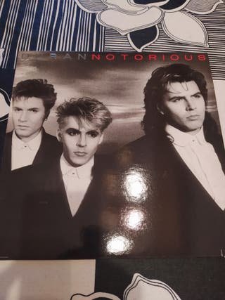 Disco vinilo Duran Duran Notorious