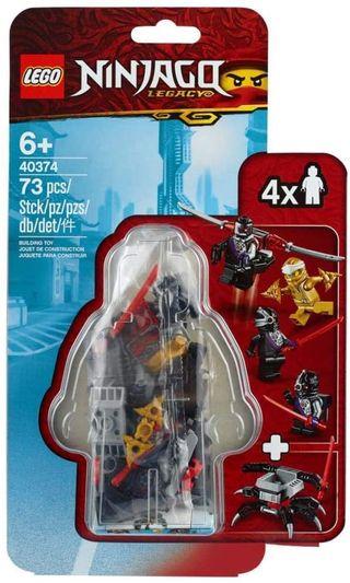 LEGO NINJAGO 40374 - SET DE ACCESORIOS PARA MF DE