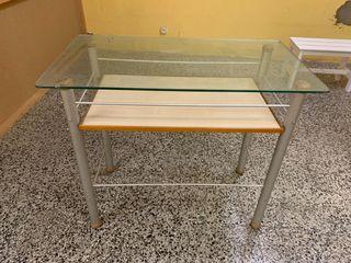 Mesa para exposición ropa
