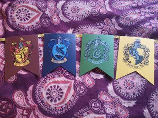Banderín Harry Potter