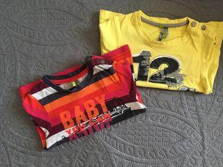 Pack dos camisetas manga larga 18 meses