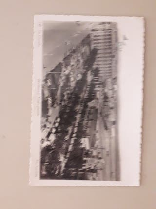 antigua postal fotográfica años 50's