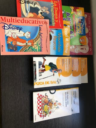 Lote de libros lectura 4-6 años