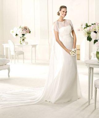 Vestido novia PRONOVIAS Manuel Mota
