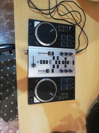 Mesa de mezclas Hercules dj control AIR
