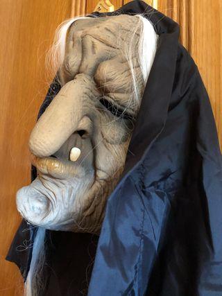 Careta, máscara de carnaval de bruja