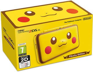 New Nintendo 2DS XL Edicion Pikachu