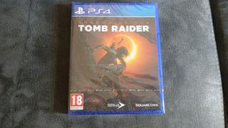 shadow of the tomb raider PS4 precintado