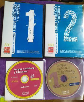 CD's de libros de texto