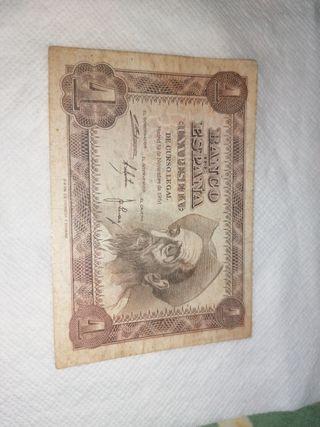 vendo billete 1 peseta de 1951