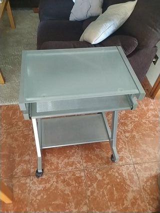Mesa informática color gris