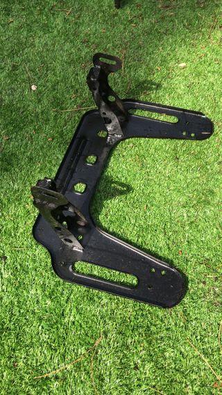 soporte delantero quad polaris sportman
