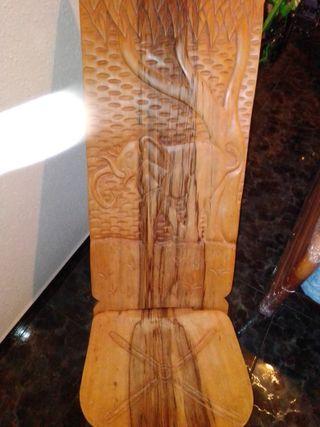 silla de ébano