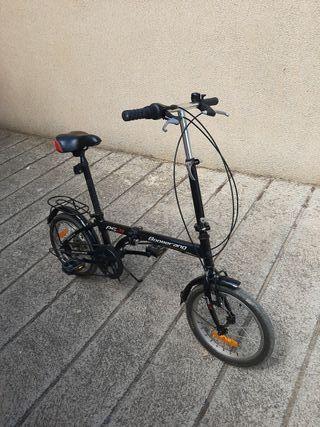 """bici plegable aluminio 16"""""""