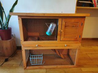 jaula para conejo o roedores