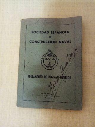 1946. SOCIEDAD ESPAÑOLA DE CONSTRUCCIÓN NAVAL