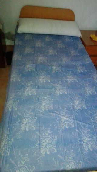 cama y colchón ortopedico