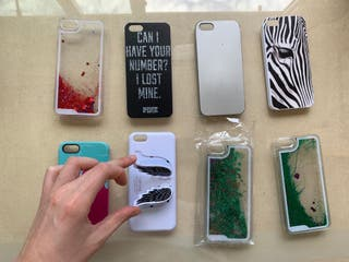 Fundas IPhone 5/5S sin uso