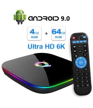 Smart tv box Q+ 64gb