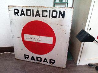 Antiguo cartel industrial años 60'