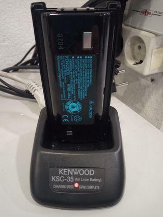 Bateria y cargador walki kenwood