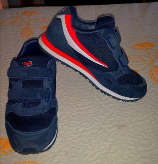 Zapatillas FILA para niño T.32