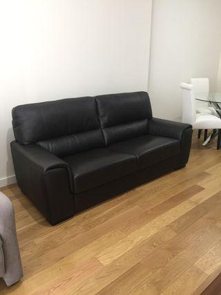 Sofa de piel 3 plazas
