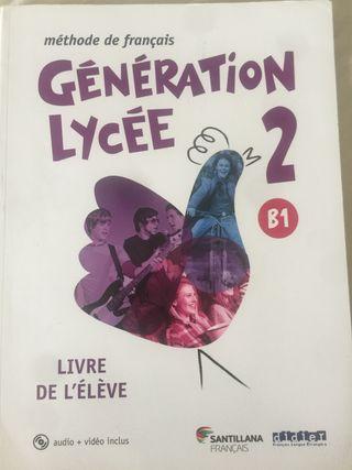 Generación Lyceé 2 B1 Livre de l'élève