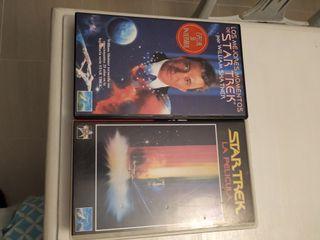 Películas VHS Star Trek