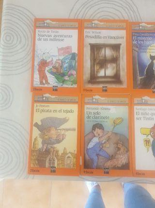 Libros editorial SM El barco de vapor
