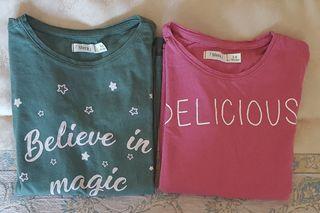 Camisetas niña talla 5-6 (110-116cm) Nuevas
