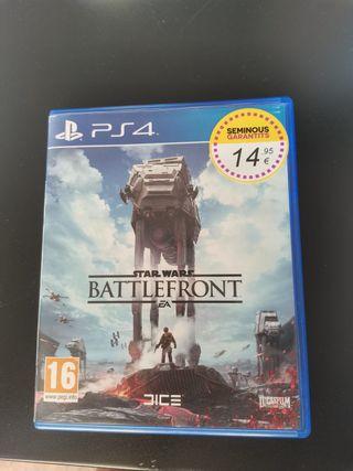 BATTLEFRONT PS4 Game